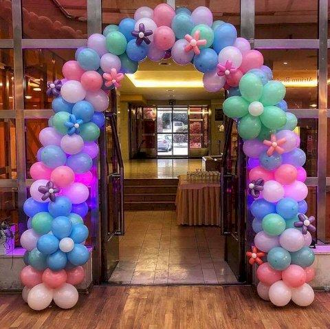 Balonky - výzdoba